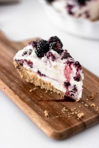 blackberry cheesecake ice cream