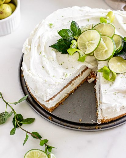 homemadekeylimeicecreamcake