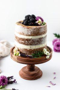 blackberrylavendercake