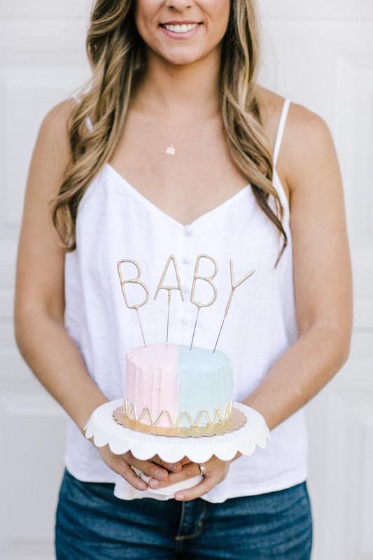 babyannouncementcake
