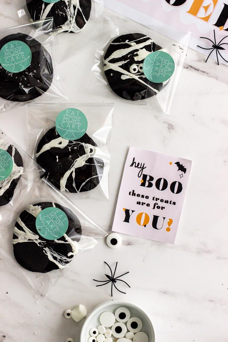 boo gift bag idea
