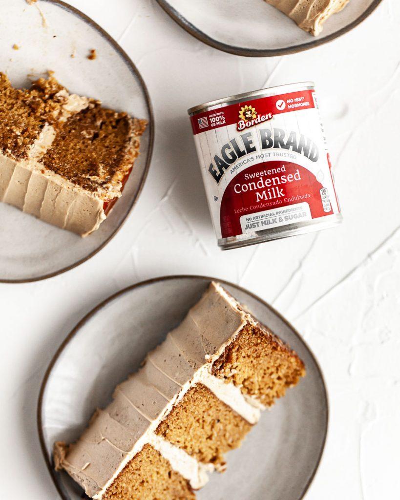 sweetened condensed milk in cake recipe