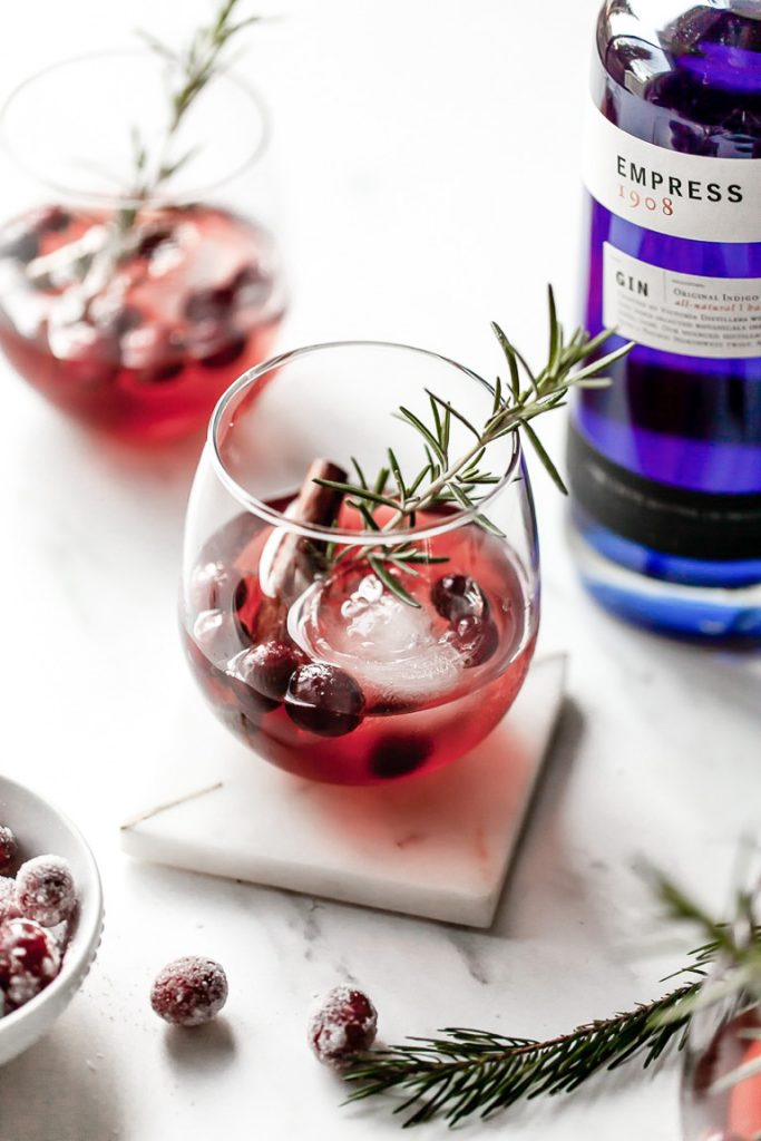 empress gin holiday cocktail