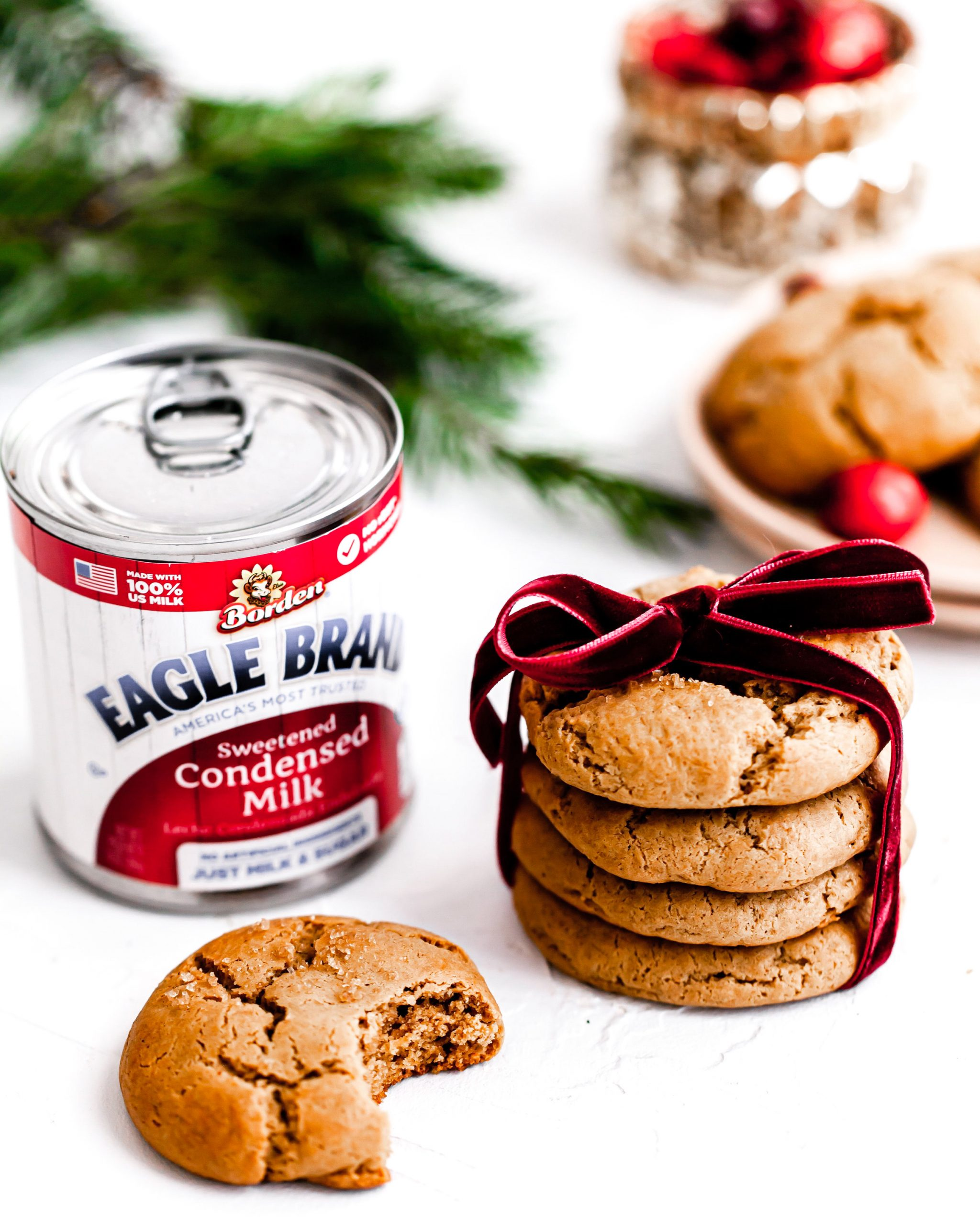 cookies made with sweetened condensed milk