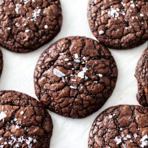 salted espresso brownie cookie recipe