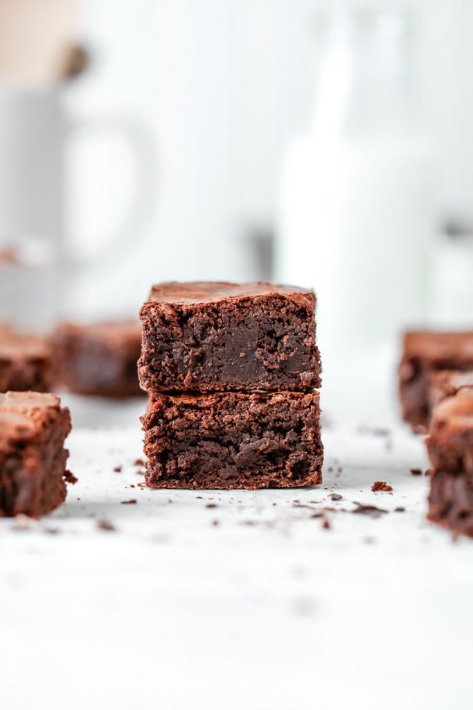 malted fudge chocolate brownies