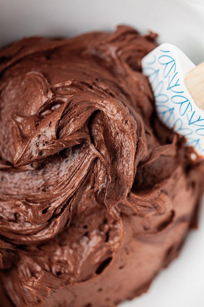 chocolate malt frosting
